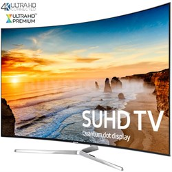 UN55KS9500 - Curved 55-Inch 2160p Smart 4K SUHD LED TV - KS9500 9-Series