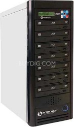 Blu-Ray Tower Duplicator, HDD to 7(6X BD-R/RE, 16X DVD-/+R), 500GB HD