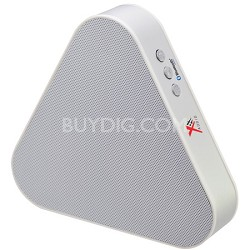 Triangular Bluetooth Speaker - White