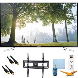 "UN75H6350 - 75"" HD 1080p Smart HDTV 120Hz with Wi-Fi Plus Mount & Hook-Up Bundle"