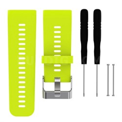 Silicone Band Strap + Tools for Garmin Vivoactive HR Sport Watch (Lime)