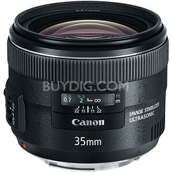 EF 35mm f/2 IS USM Wide-Angle Lens
