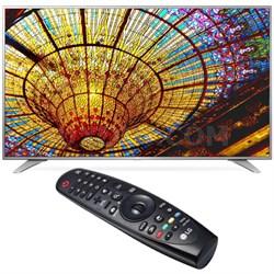 55UH6550 55-Inch 4K UHD Smart TV w/ webOS 3.0 Bundled w/ LG Magic Remote Control