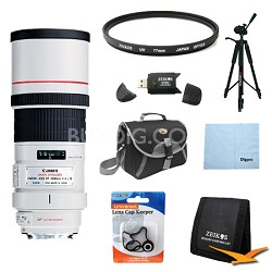 EF 300mm F/4.0 L IS Lens Exclusive Pro Kit