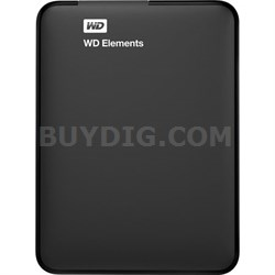 2TB WD Elements Portable USB 3.0 Hard Drive WD 6 Months WD Warranty Refurbished