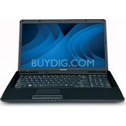 "Satellite 17.3"" L675D-S7102 Notebook AMD Athlon II Dual-Core Mobile P360"