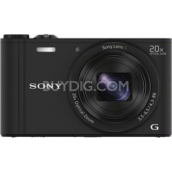 Cyber-shot DSC-WX350 Digital Camera (Black) - OPEN BOX