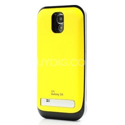 Battery Case for Galaxy S4 - Yellow