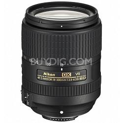 AF-S DX NIKKOR 18-300mm f/3.5-6.3G ED VR Lens Factory Refurbished