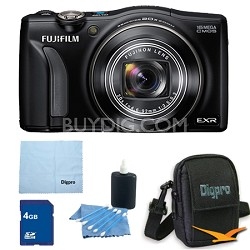 FinePix F770EXR 16MP EXR CMOS Digital Camera 4 GB Bundle (Black)
