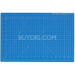 """Vantage 10693 Self-Healing 24"""" x 36"""" Blue Cutting Mat"""