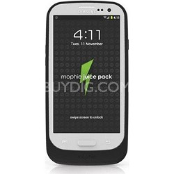 Rechargeable External Juice Pack Charging Case for Samsung Galaxy SIII (Black)