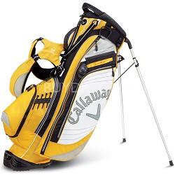 Callaway Golf Hyper-Lite 4.5 Stand Bag - Yellow/White