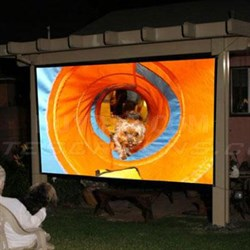 "236"" Diagonal Outdoor Screen"