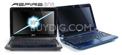 "Aspire one 10.1"" Netbook PC - Blue (AOD250-1165)"