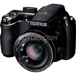 """FinePix S4000 14 MP 3"""" LCD Digital Camera w/ Fujinon 30x Angle Zoom    OPEN BOX"""