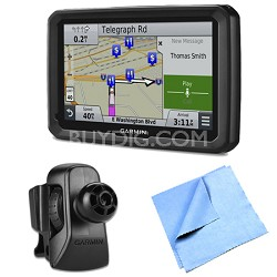 "dezl 770LMTHD 7"" GPS with Lifetime Map and Traffic Updates Air Vent Mount Bundle"