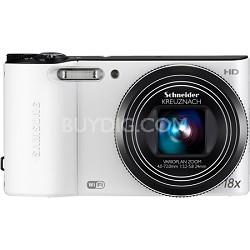 WB150F 14 MP 18X Wi-Fi Digital Camera - White - OPEN BOX
