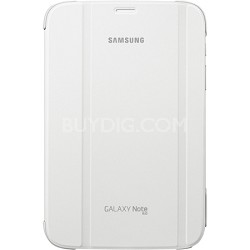 Galaxy Note 8.0 Book Cover - White