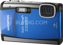 "Stylus Tough 6000 10MP 2.7"" LCD Digital Camera (Blue)"