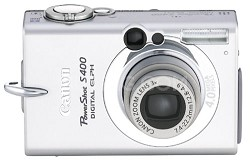 Powershot S400 Digital ELPH Camera