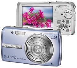Stylus 760 (Blue) Digital Camera