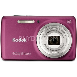 EasyShare M552 14MP Dark Pink Digital Camera