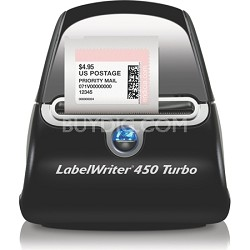 LabelWriter 450 Turbo High-Speed Postage and Label Printer for PC and Mac, USB,