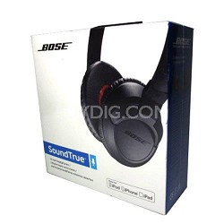 SoundTrue On-Ear Headphones (Black) - OPEN BOX