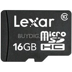 16GB microSDHC Class 10 Memory Card