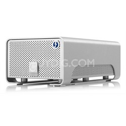 G-RAID with Thunderbolt 4TB Professional Portable Dual-Drive Storage System