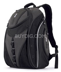 "Express Backpack - Notebook carrying backpack - 16"" - black, silver"