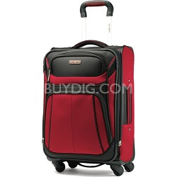 Aspire Sport Spinner 21 Inch Expandable Bag - Red/Black