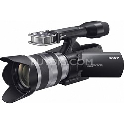 NEX-VG10 Full HD Interchangeable Lens Camcorder w/18-200mm E-Mount Lens OPEN BOX