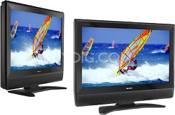 "LC-32D40U - AQUOS 32"" High-definition LCD TV"