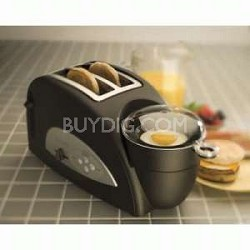 TEM500 Egg & Muffin Toaster and Egg Poacher