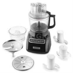 9-Cup Food Processor with Exact Slice System in Onyx Black - KFP0922OB