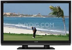 "LC-52D82U - AQUOS 52"" High-definition 1080p LCD TV"
