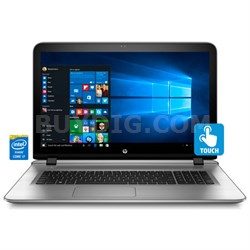 "Envy 17-s030nr HD 17.3"" Touchscreen Notebook - Intel Core i7-6500U Processor"