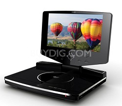 TFDVD8503 8.5  inch TFT Slim Portable DVD Player with Swivel Screen