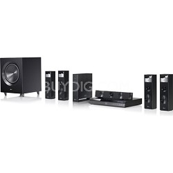 3D Wi-Fi Smart Blu-ray Home Theater System - Bluetooth, Wireless Rear Speakers