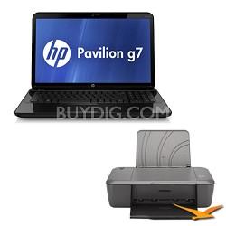 "Pavilion 17.3"" g7-2010nr Notebook PC - Intel Core i3-2350M - Printer Bundle"