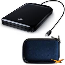 GoFlex 320 GB Ultra-Portable USB 2.0 External Hard Drive Bonus Bundle