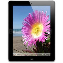 iPad 4th Generation 32GB w/ Wi-Fi 4G LTE AT&T, 9.7-inches - Black (Refurbished)