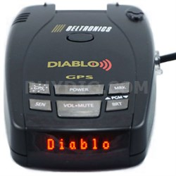 Diablo High Performance Radar and Laser Detector (Spanish Version of Pro 500)