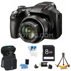 Cyber-shot DSC-HX100V Digital Camera 8GB Bundle