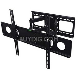 Articulating and Tilting Full Motion Wall Mount for 32-62 inch TVs