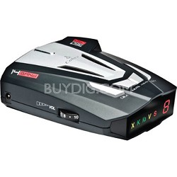 XRS9370 High-Performance Radar/Laser Detector with 360-Degree Protection