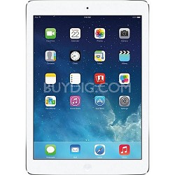 iPad Air 1st Generation 32GB Wi-Fi - Silver/White (MD789LL/A)