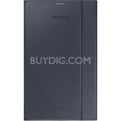Tab S 8.4 Book Cover - Charcoal Black